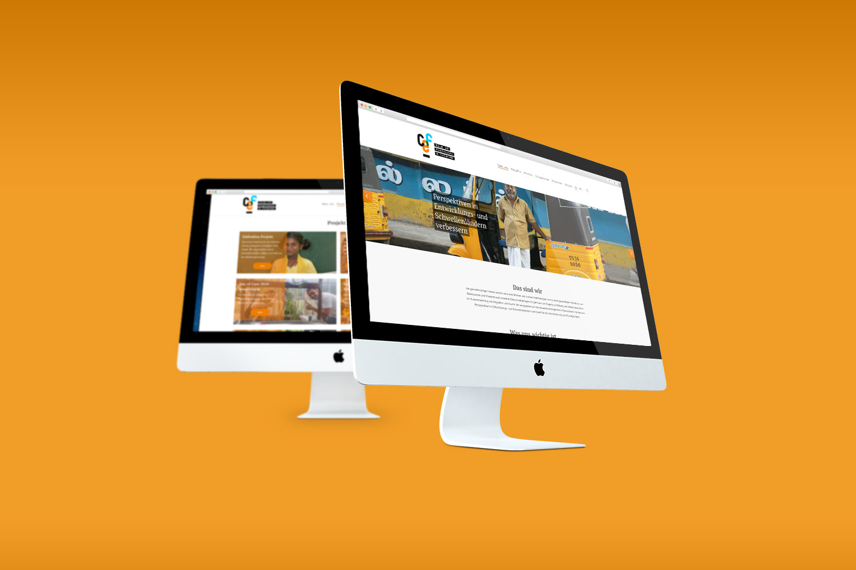 Webseite Webdesign wordpress
