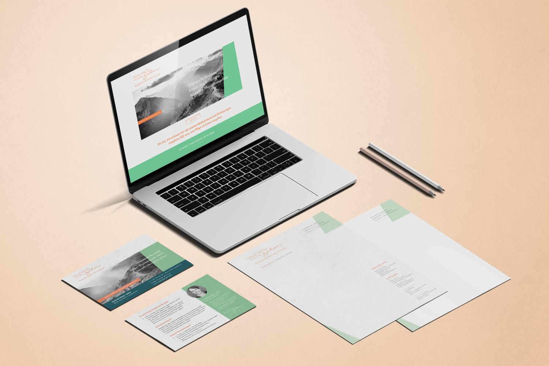 Praxis Logo Corporate Design Geschäftsausstattung