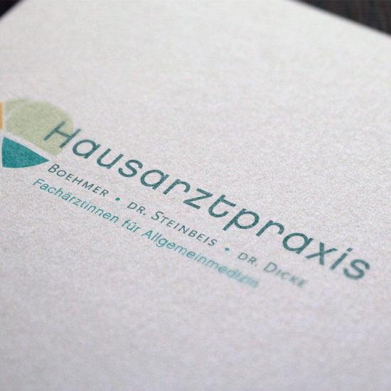 Logo Entwicklung Hausarztpraxis Lichtenberg
